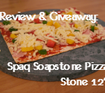 Review & Giveaway: Sparq Soapstone Pizza Stone 12″ (giveaway now closed)