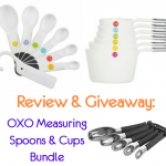 Review & Giveaway: OXO Measuring Spoons & Cup Bundle (giveaway now ended)