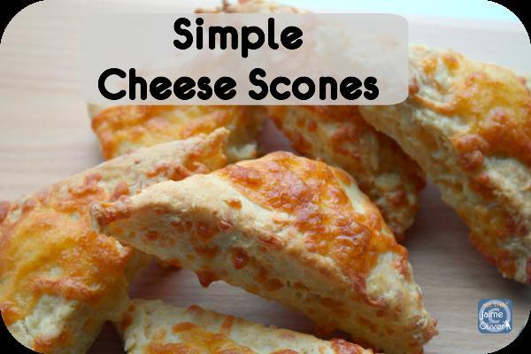Easy Cheddar Scones Recipe — Dishmaps