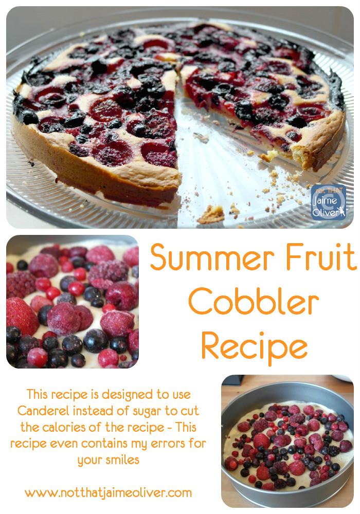 Summer Fruit Cobbler (Pintrest)