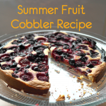 Summer Fruit Cobbler Recipe (Using Canderel)