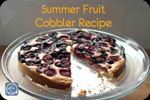 Summer Fruit Cobbler title large