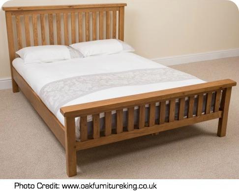 cotswold oak double bed