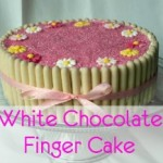 White Chocolate Finger Cake