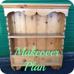 Farmhouse Dresser Top Makeover Plan