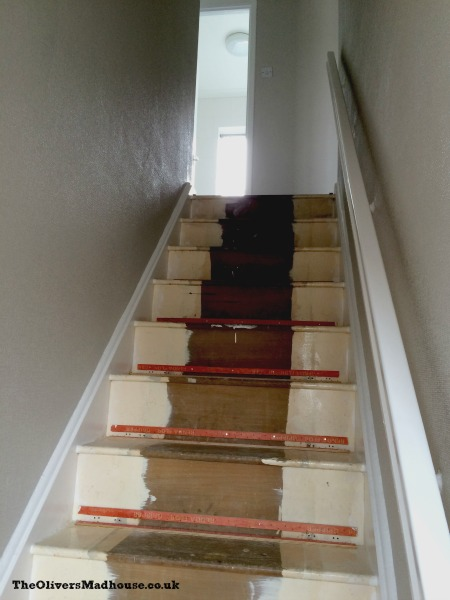 Decorating The Stairs
