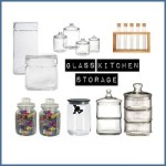 Glass Kitchen Storage Love