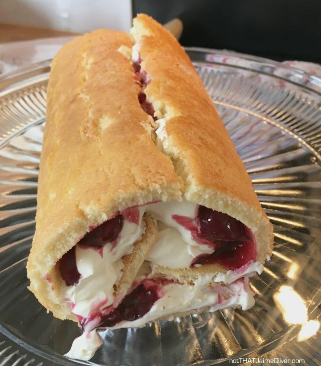 corgi cake swiss roll