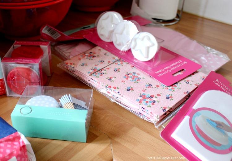 home bargains baking bundle