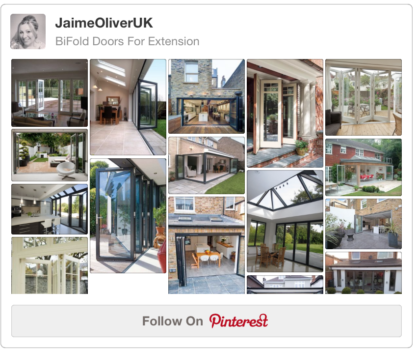 JaimeOliverUK BiFold Doors Pintrest Board