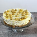 White Chocolate & Butterscotch No Bake Cheesecake Recipe
